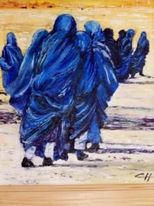 dames bleues